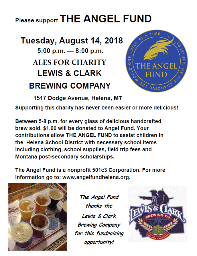 Ales for Charity Flyer