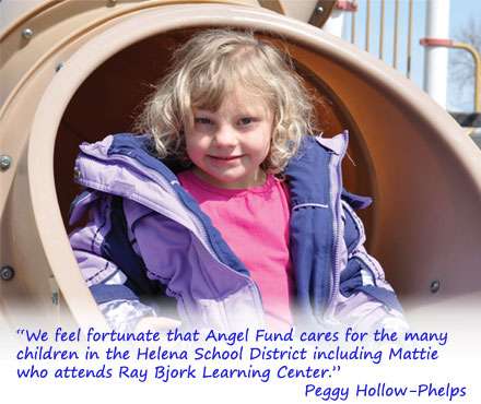 Mattie at Ray Bjork Learning Center